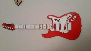 laser cut guitar