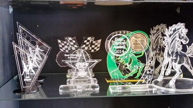 Laser Cutting Medal And Trophy Magic
